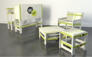 Aménagement de stand éco-conçu