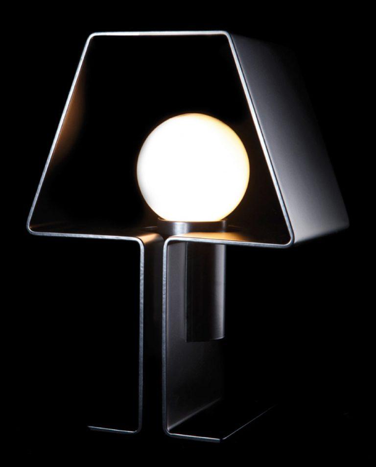 Lampe à poser design, création et conception