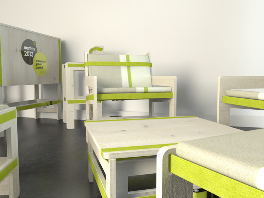 eco conception de mobilier pour green capital fabien denis