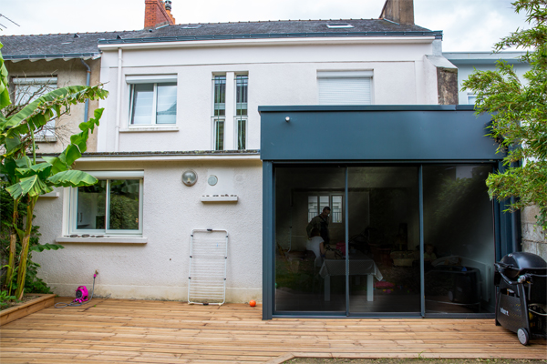 Rénovation d\'une maison, création d\'une extension - Fabien DENIS