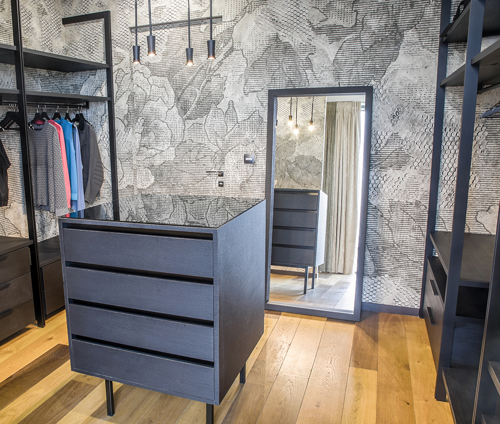 architecture d 39 int rieur d une maison contemporaine fabien denis. Black Bedroom Furniture Sets. Home Design Ideas